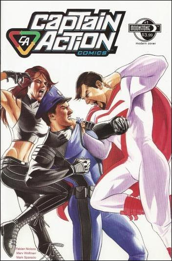 Captain Action Comics 1-A by Moonstone