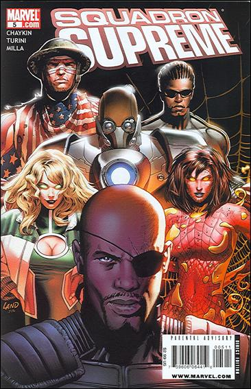 Squadron Supreme (2008) 5-A by Marvel
