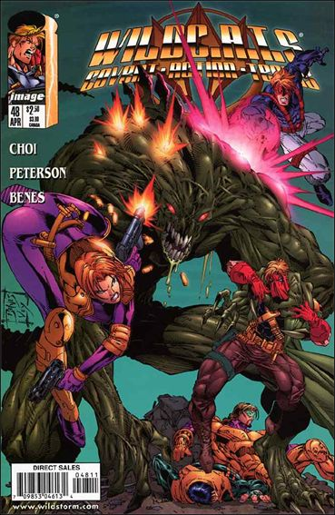 WildC.A.T.s: Covert Action Teams 48-A by Image