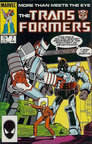 Transformers (1984) 7-A by Marvel
