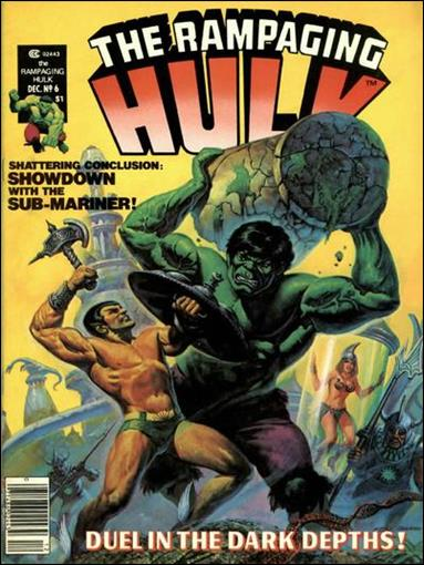 Rampaging Hulk (1977) 6-A by Marvel