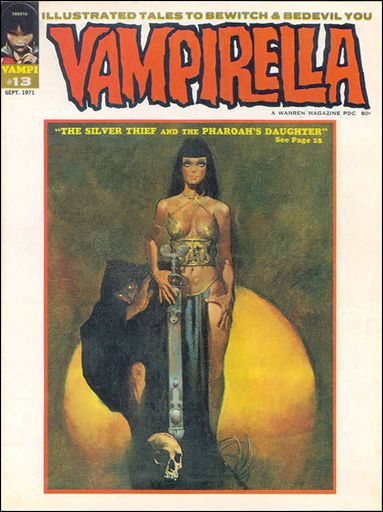 Vampirella 13-A by Warren