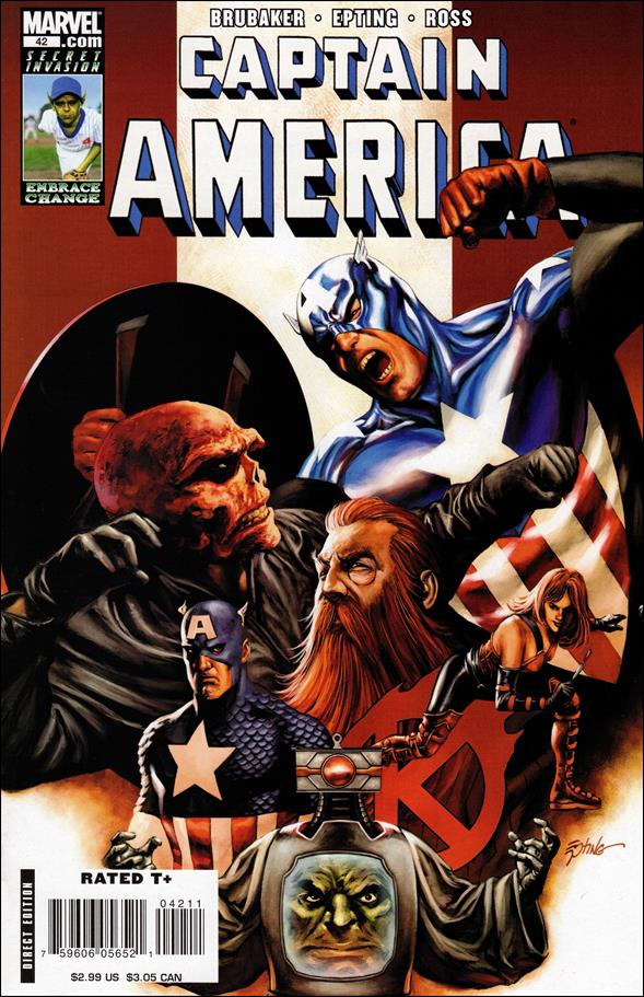 Captain America (2005) 42-A by Marvel