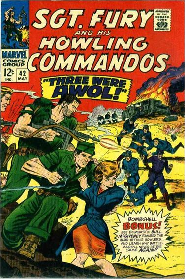 Sgt. Fury and His Howling Commandos 42-A by Marvel