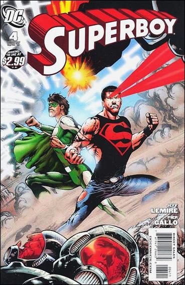Superboy (2011/01) 4-A by DC