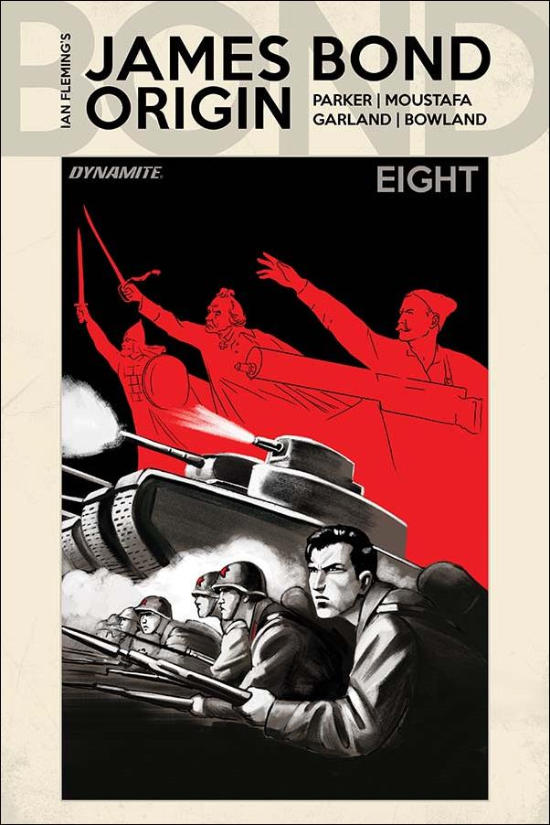 James Bond: Origin 8-E by Dynamite Entertainment