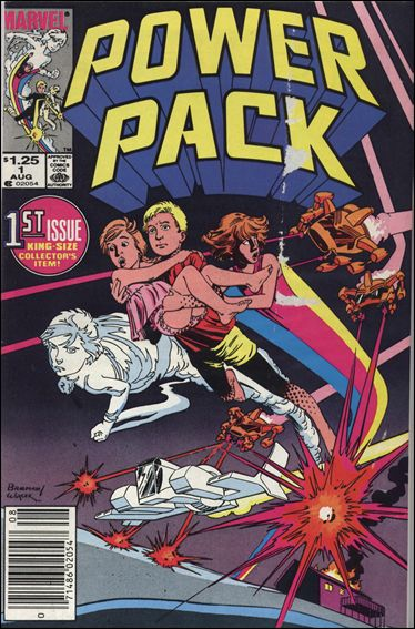 Power Pack (1984) 1-B by Marvel