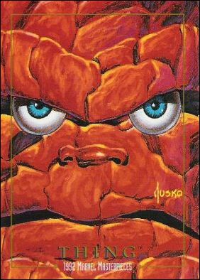 1992 Marvel Masterpieces (Base Set) 91-A by SkyBox