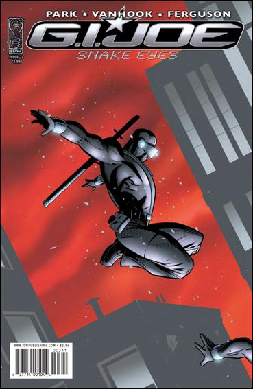 G.I. Joe: Snake Eyes (2009) 3-A by IDW