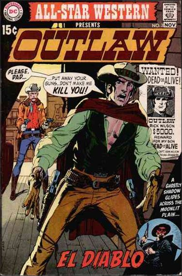All-Star Western (1970) 2-A by DC