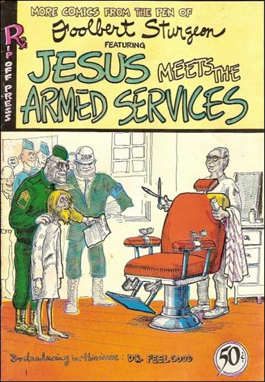 Jesus Meets the Armed Services nn-A by Rip Off Press