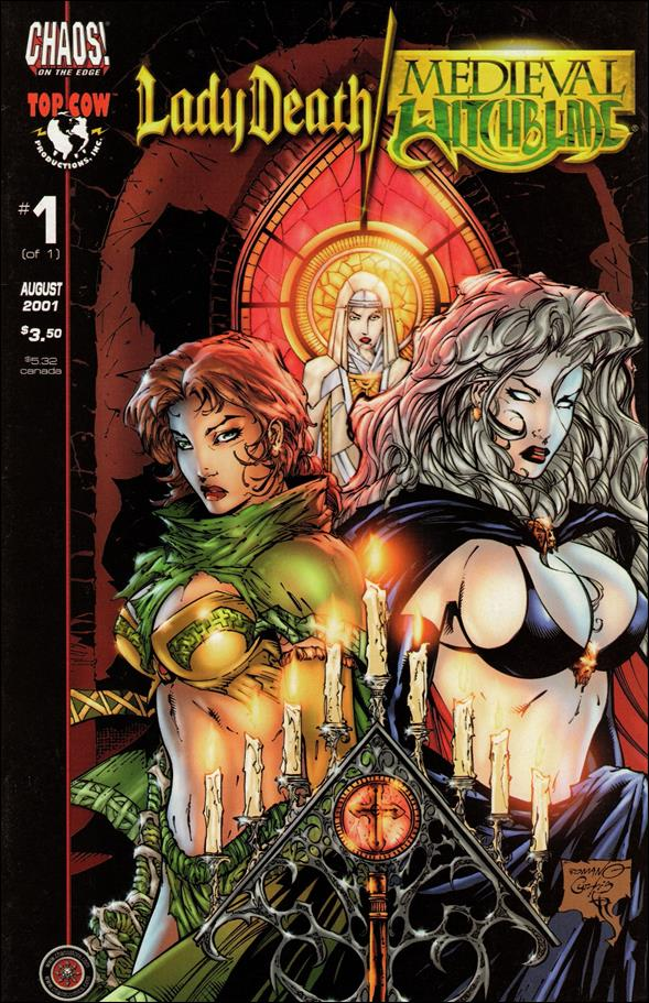 Lady Death/Medieval Witchblade 1-A by Chaos! Comics