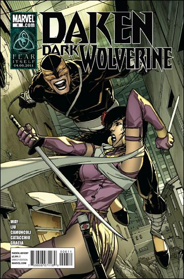 Daken: Dark Wolverine 6-A by Marvel
