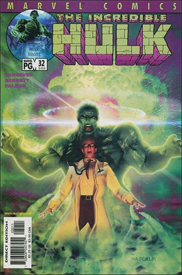 Incredible Hulk (2000)  32-A by Marvel