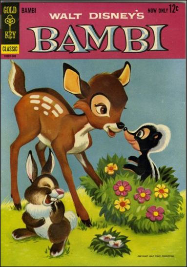 Walt Disney's Bambi 1-A by Gold Key