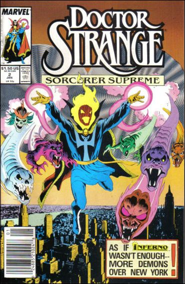 Doctor Strange, Sorcerer Supreme 2-A by Marvel