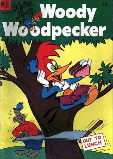 Walter Lantz Woody Woodpecker  18-A by Dell