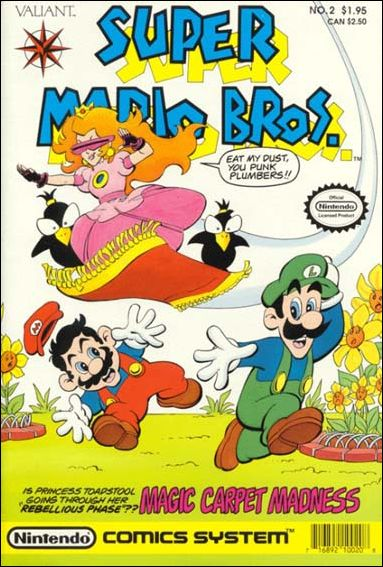 super mario bros 2 a may 1990 comic book by valiant