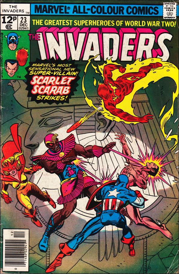 Invaders (1975) 23-B by Marvel