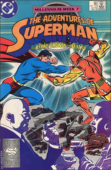 Adventures of Superman (1987) 437-A by DC
