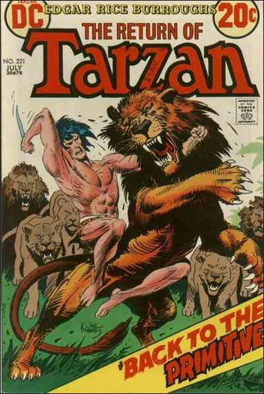 Tarzan (1972) 221-A by DC