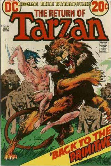 Tarzan (1972) 221-A by DC