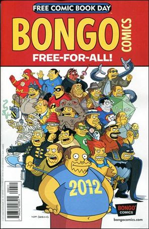 Bongo Comics Free-For-All! 2012-A
