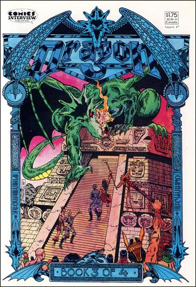 Dragon (1987) 3-A by Comics Interview