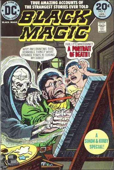 Black Magic (1973) 2-A by DC