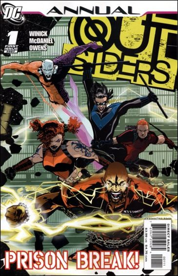 Outsiders Annual '1'-A by DC
