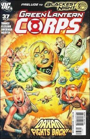 Green Lantern Corps (2006) 37-A