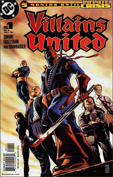 Villains United 1-A by DC