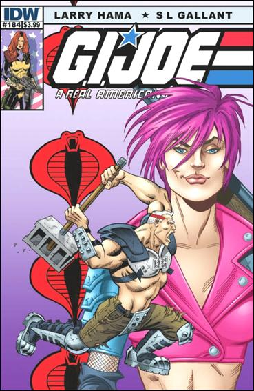 G.I. Joe: A Real American Hero 184-A by IDW