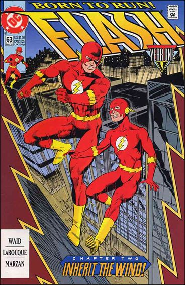 Flash (1987) 63-A by DC