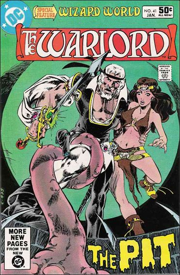 Warlord (1976) 41-A by DC