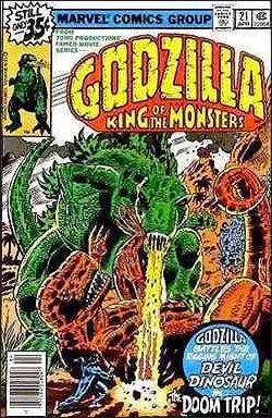 Godzilla (1977) 21-A by Marvel