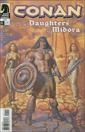 Conan and the Daughters of Midora 1-A