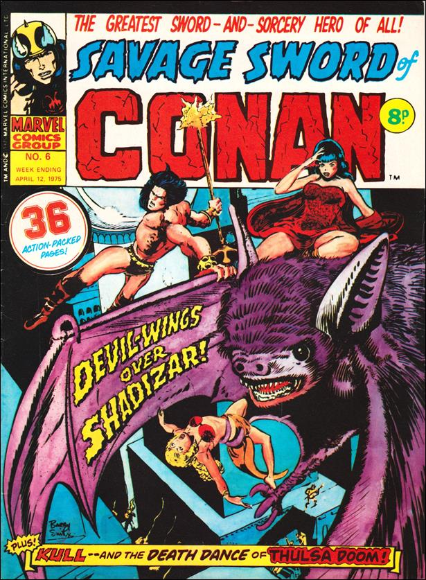 Savage Sword of Conan (UK) (1975) 6-A by Marvel UK