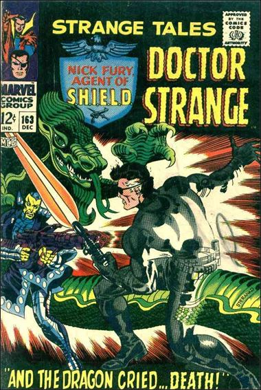 Strange Tales (1951) 163-A by Marvel