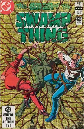 Saga of the Swamp Thing 10-A