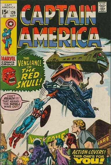 Captain America (1968) 129-A by Marvel
