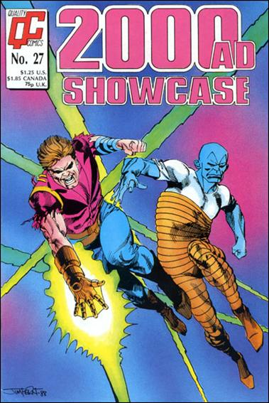 2000 A.D. Showcase (1988) (UK) 27-A by Quality Comics