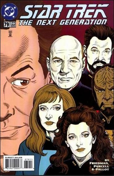Star Trek: The Next Generation (1989) 79-A by DC