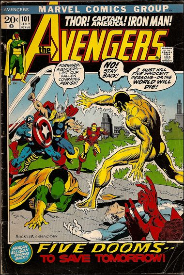 Avengers (1963) 101-A by Marvel