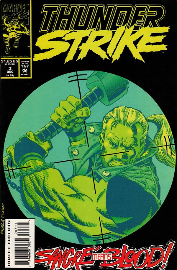 Thunderstrike (1993) 3-A by Marvel