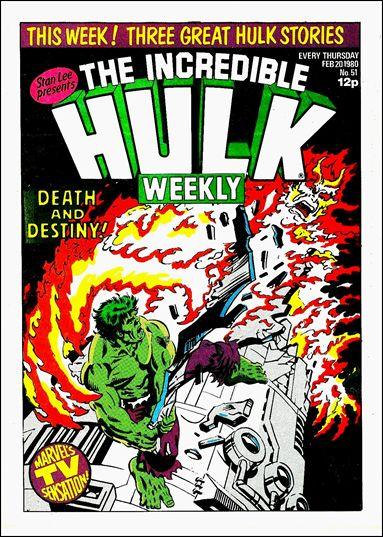 Hulk Comic (UK) 51-A by Marvel UK