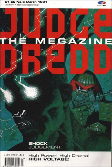 Judge Dredd Megazine (1990) 6-A by Fleetway