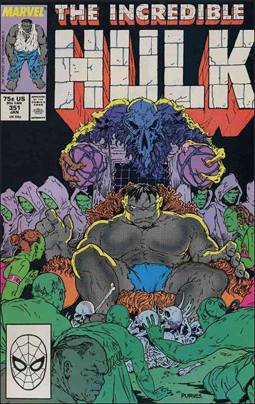 Incredible Hulk (1968) 351-A by Marvel