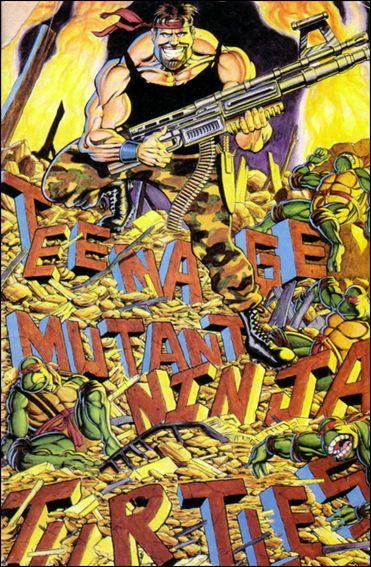 Teenage Mutant Ninja Turtles (1984) 34-A by Mirage