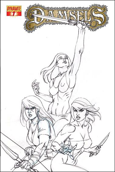 Damsels 7-B by Dynamite Entertainment